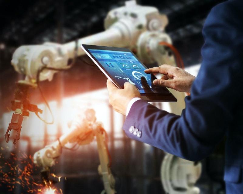 Robotics neemt digitaal proces over
