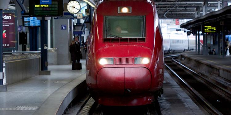 xforce sfeerfoto klantcase NSI Thalys trein