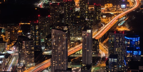 Foto van skyline