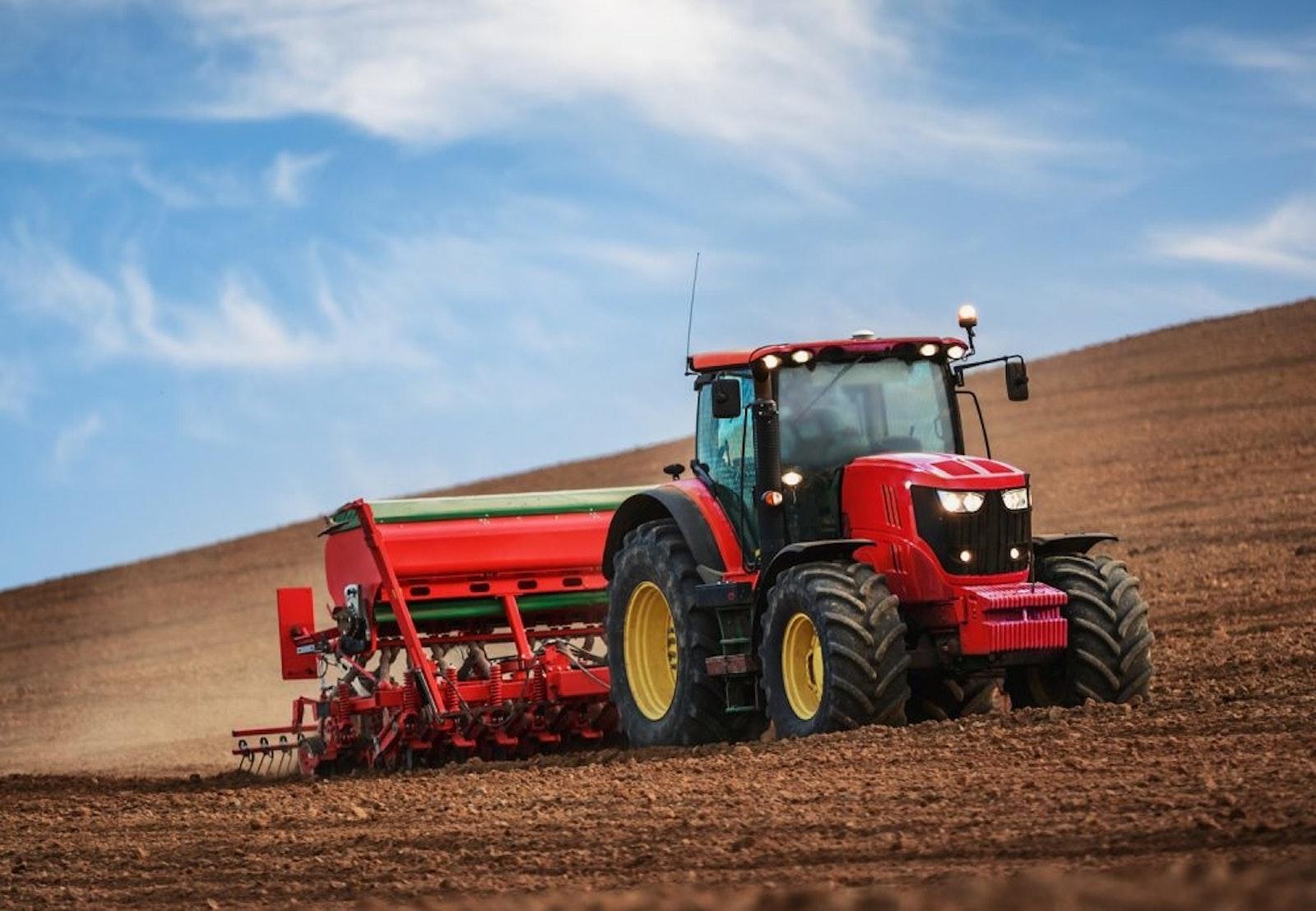 Tractor Royal Reesink