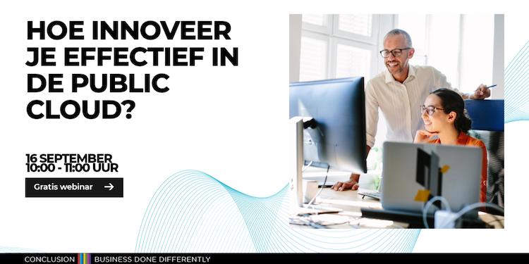 Effectiev innoveren in de public cloud