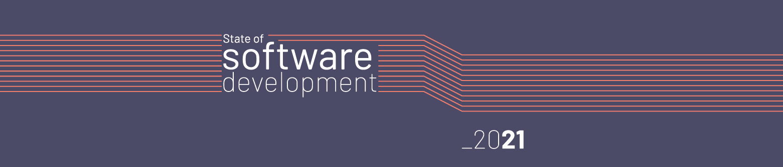 Software Development Trends 2021 cover