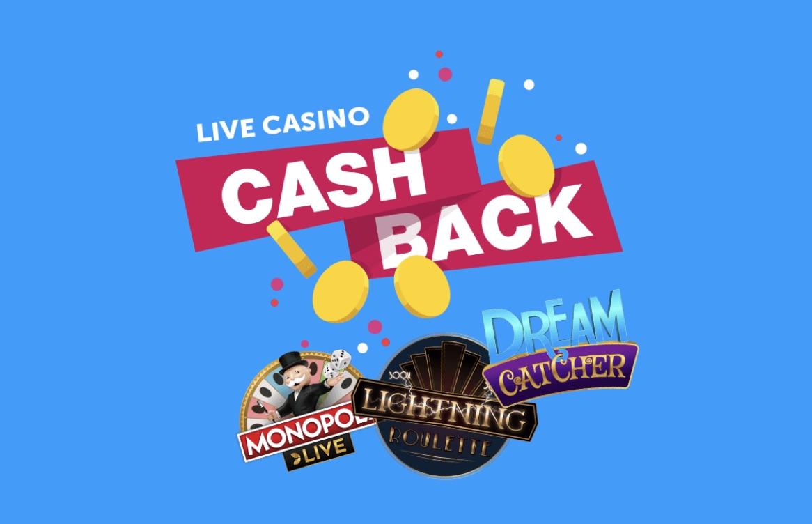 Cashback friday comeon casino