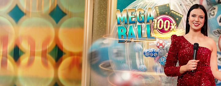 LeoVegas Mega Ball Bingo Lottery