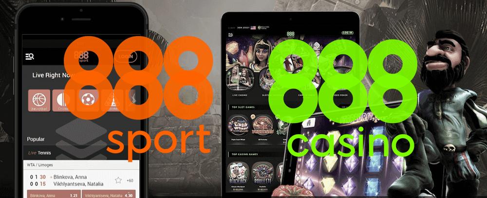 888sport and 888casino
