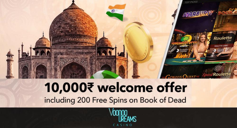 Voodoo Dreams Casino India