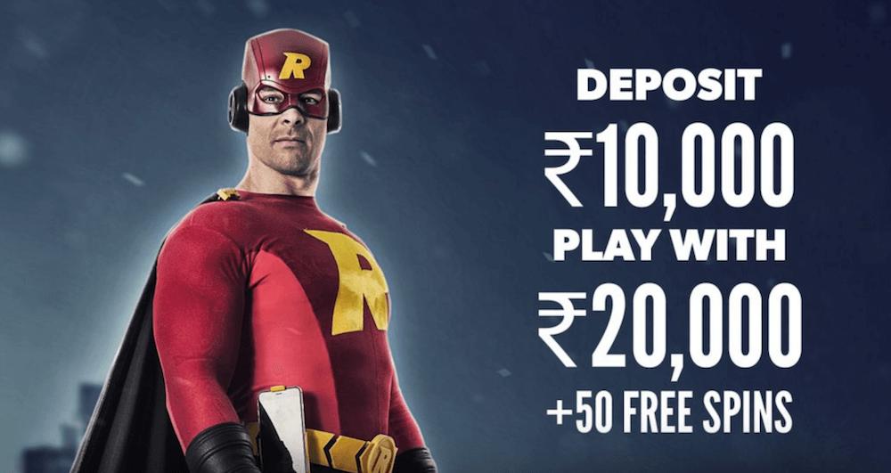 Rizk India Casino Bonus