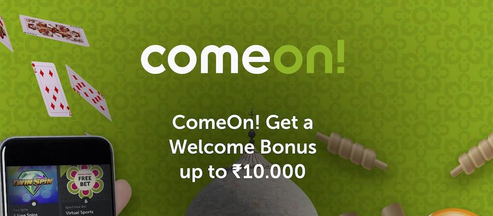 ComeOn Casino Bonus India