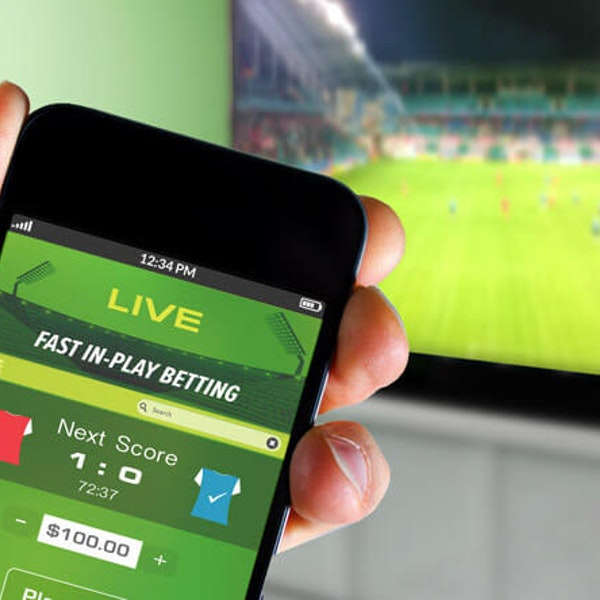 sports betting app on mobile