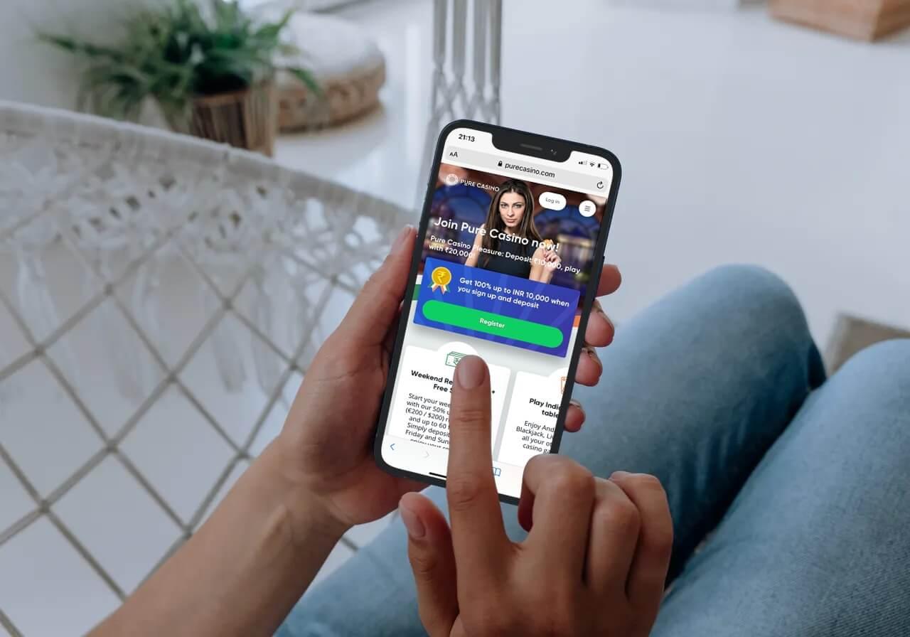 Pure Casino Mobile App