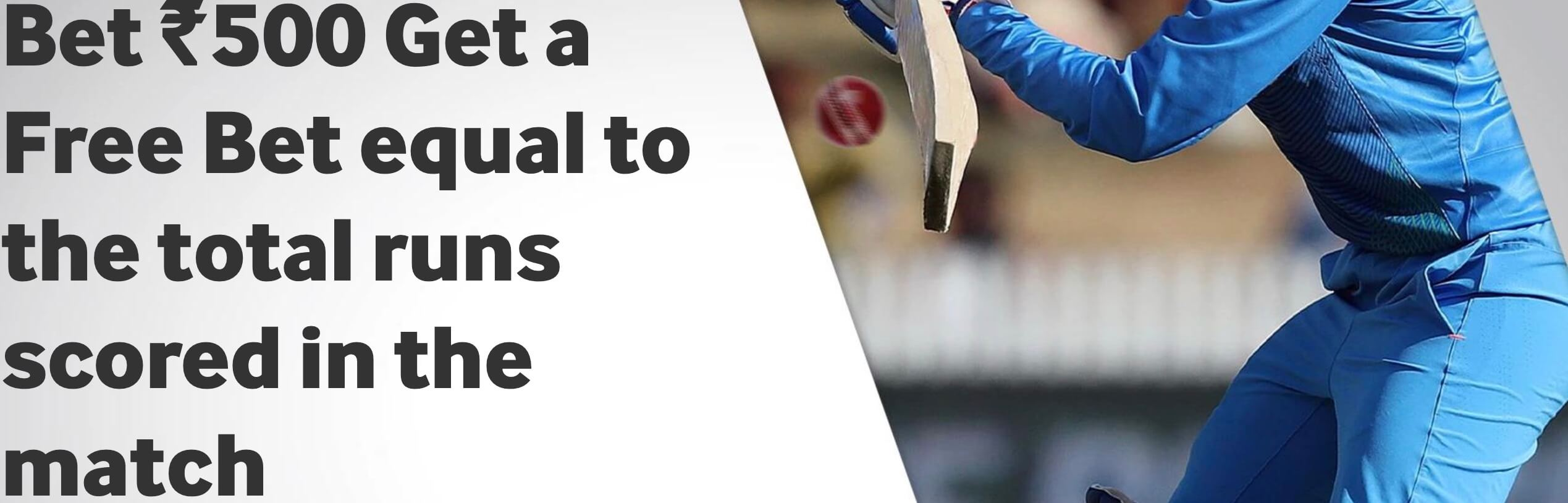 Betway cricket promotion