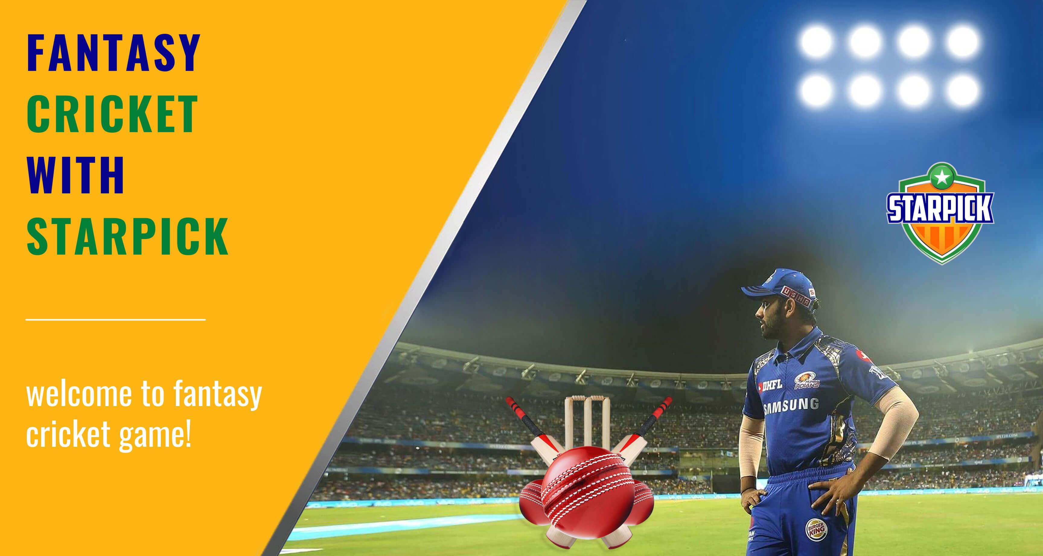 Fantasy Cricket with Starpick