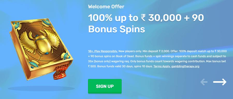 casilando bonus code