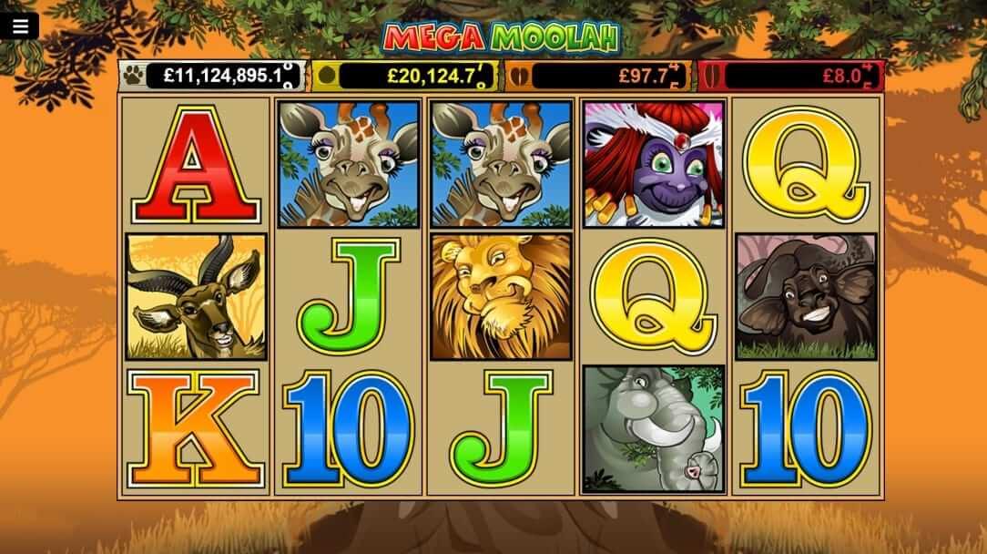 mega moolah slot for free