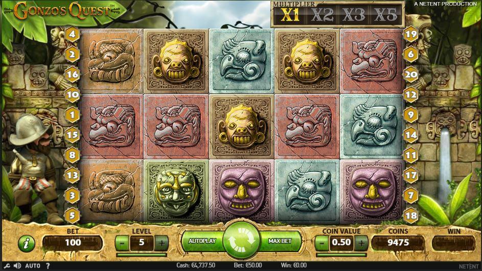 gonzos quest slot free