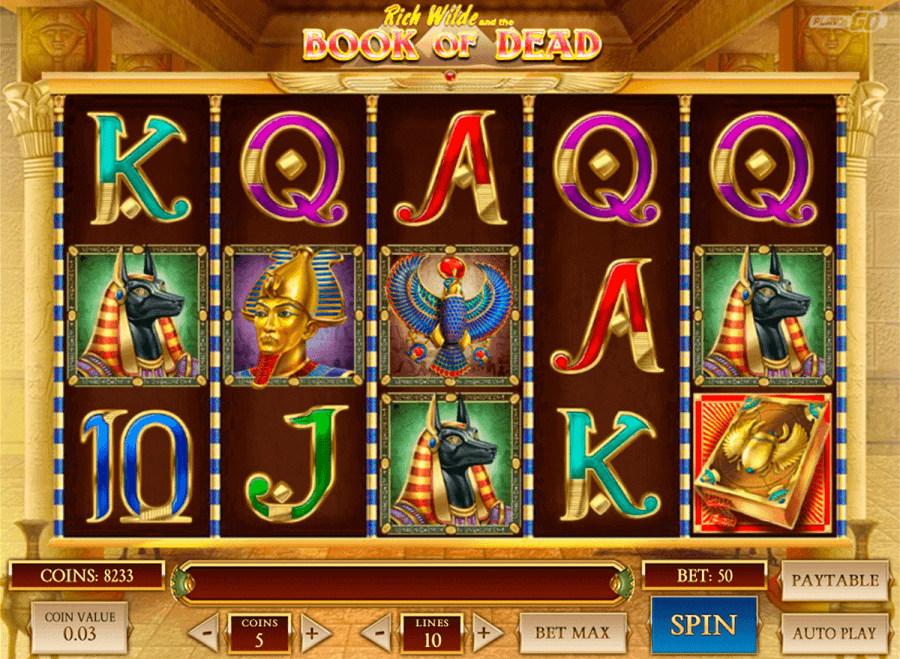 book of dead slot review india