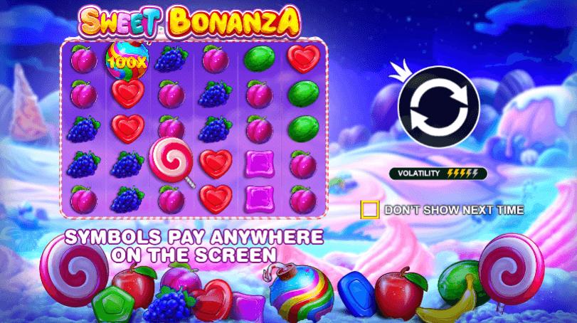 sweet bonanza slot features
