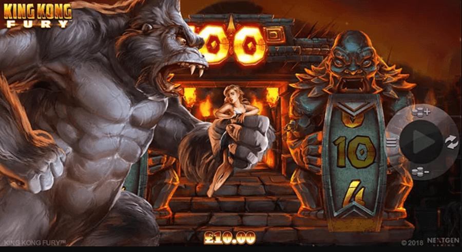 king kong fury slot review india