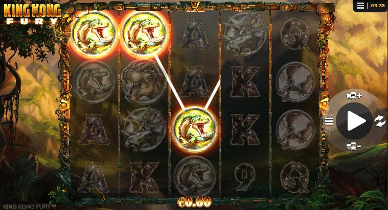 How to Play King Kong Fury slot machine