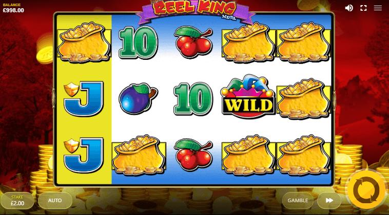 Reel King Mega Slot features