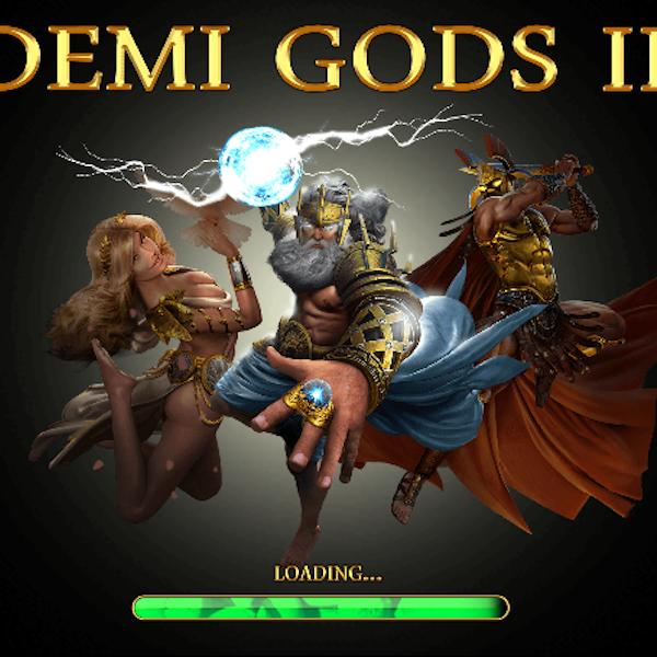 Demi Gods 2 Slot Logo