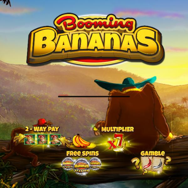 Booming Bananas Slot Logo