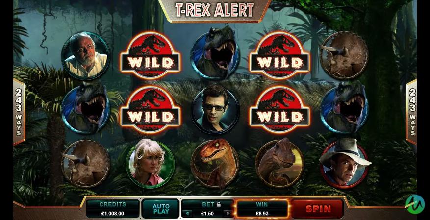 Jurassic Park Slot T-Rex Alert