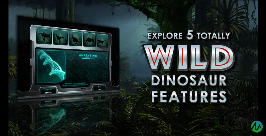 Jurassic Park Slot Wild Dinosaur Features