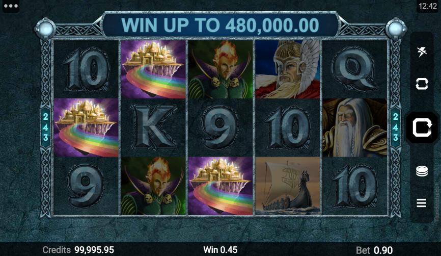 Thunderstruck 2 Slot Win