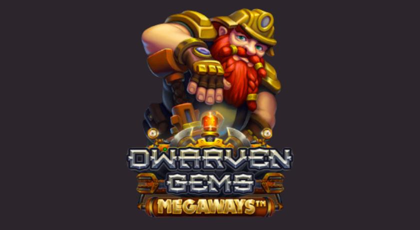 Dwarven Gems Megaways Slot Logo