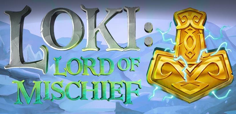 Loki Lord of Mischief Slot Logo