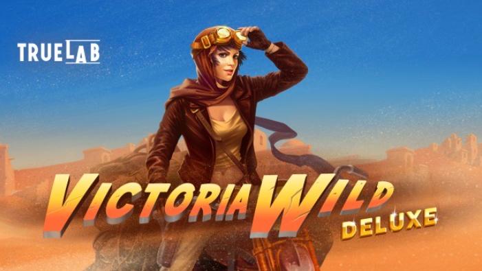 Victoria Wild Deluxe Slot Logo