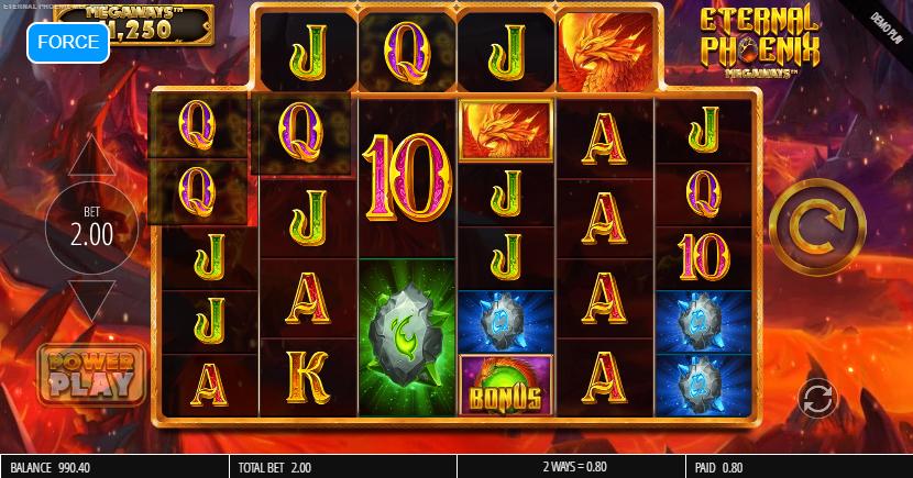 Eternal Phoenix Megaways Slot Win