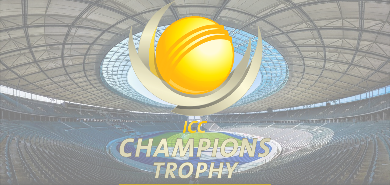 The ICC Champions Trophy Logo