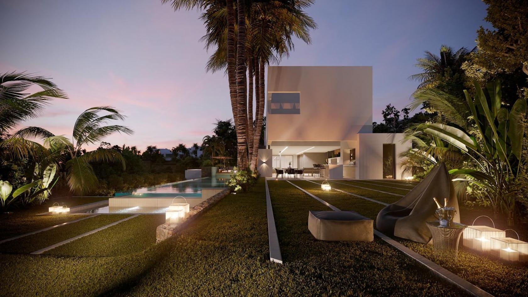 building hotel resort plant tree arecaceae palm tree