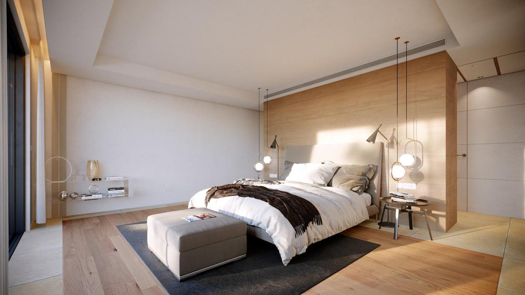 furniture indoors bedroom room bed interior design living room rug