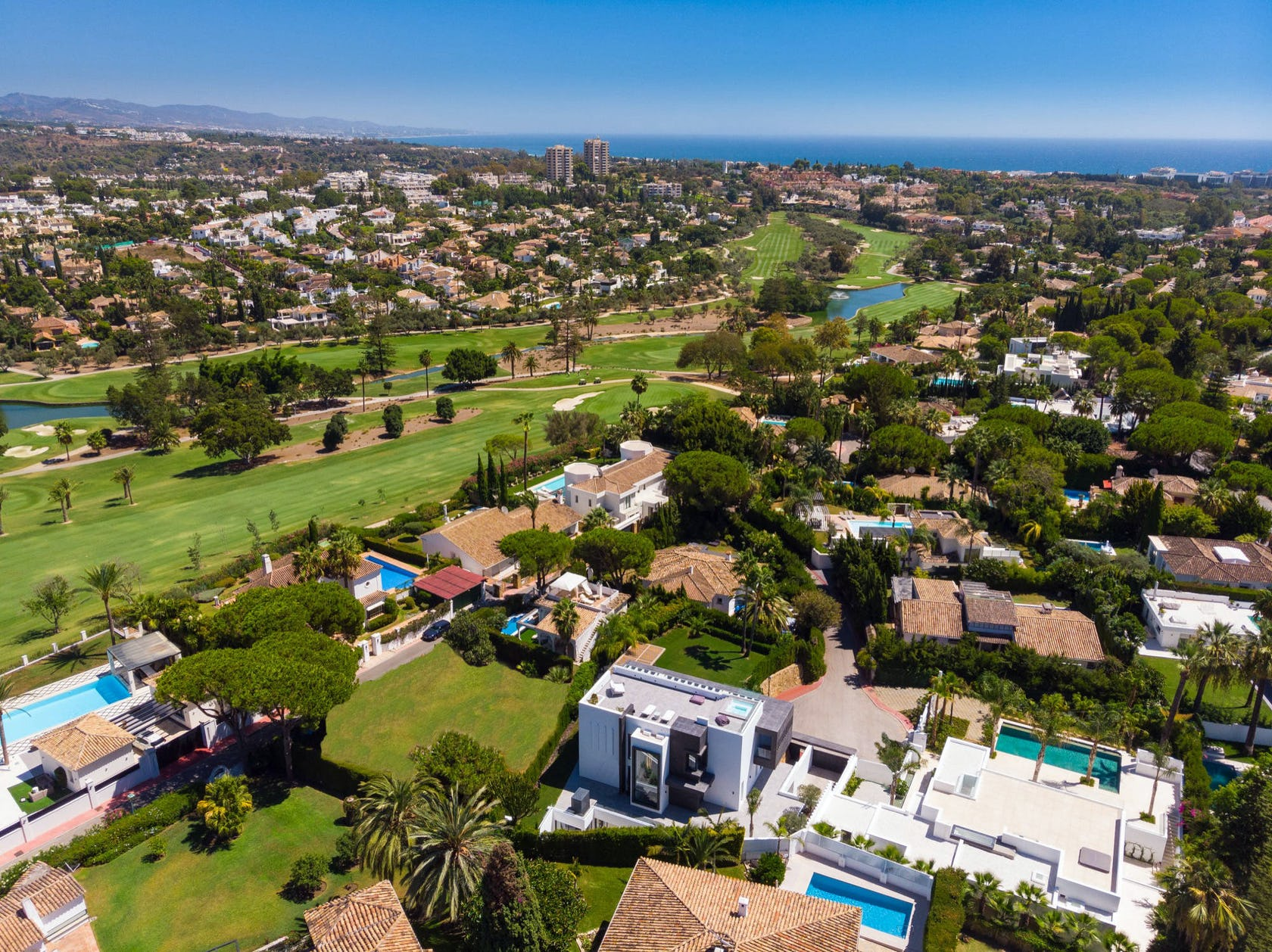 landscape outdoors nature scenery aerial view urban neighborhood building