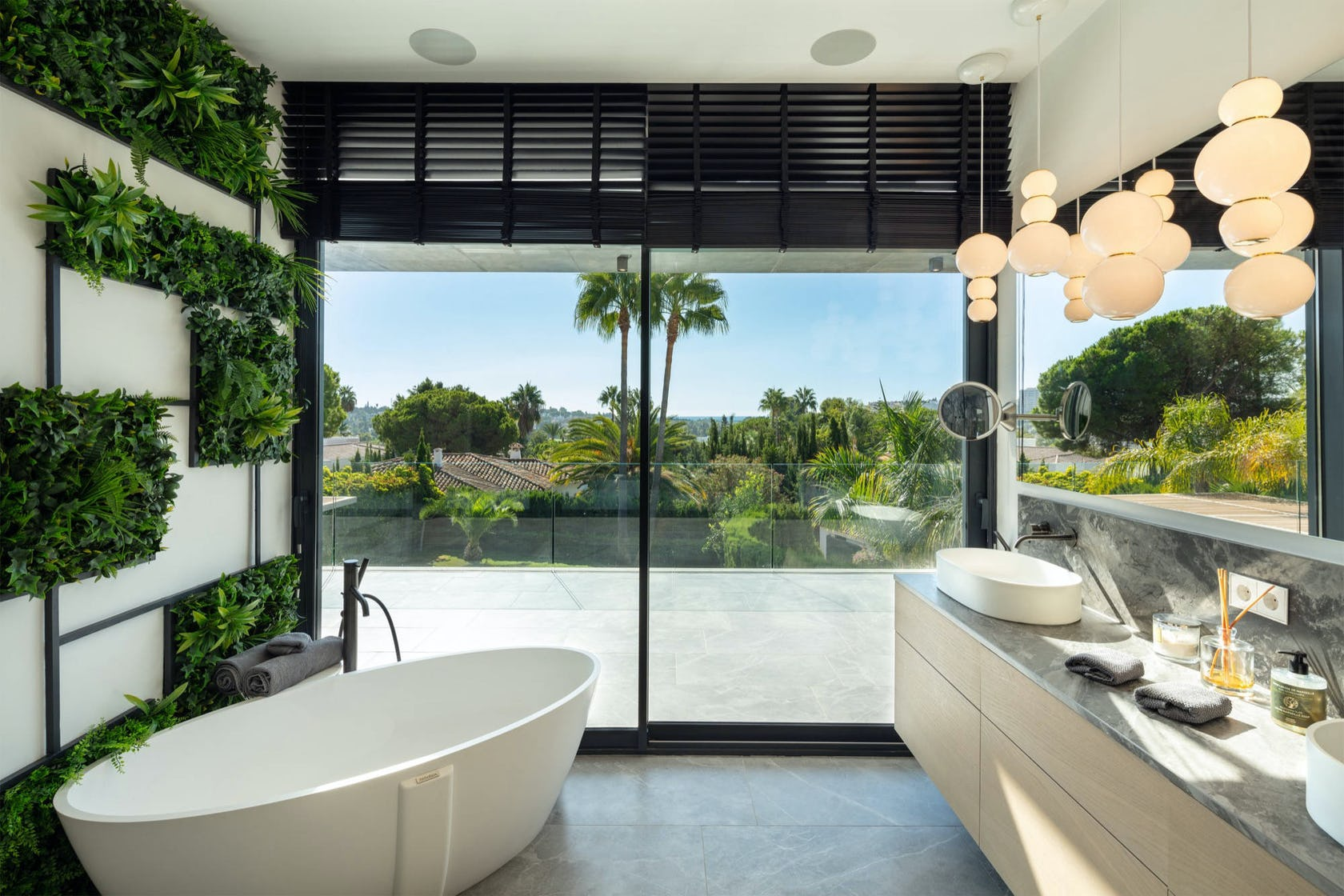 bathtub tub interior design indoors door