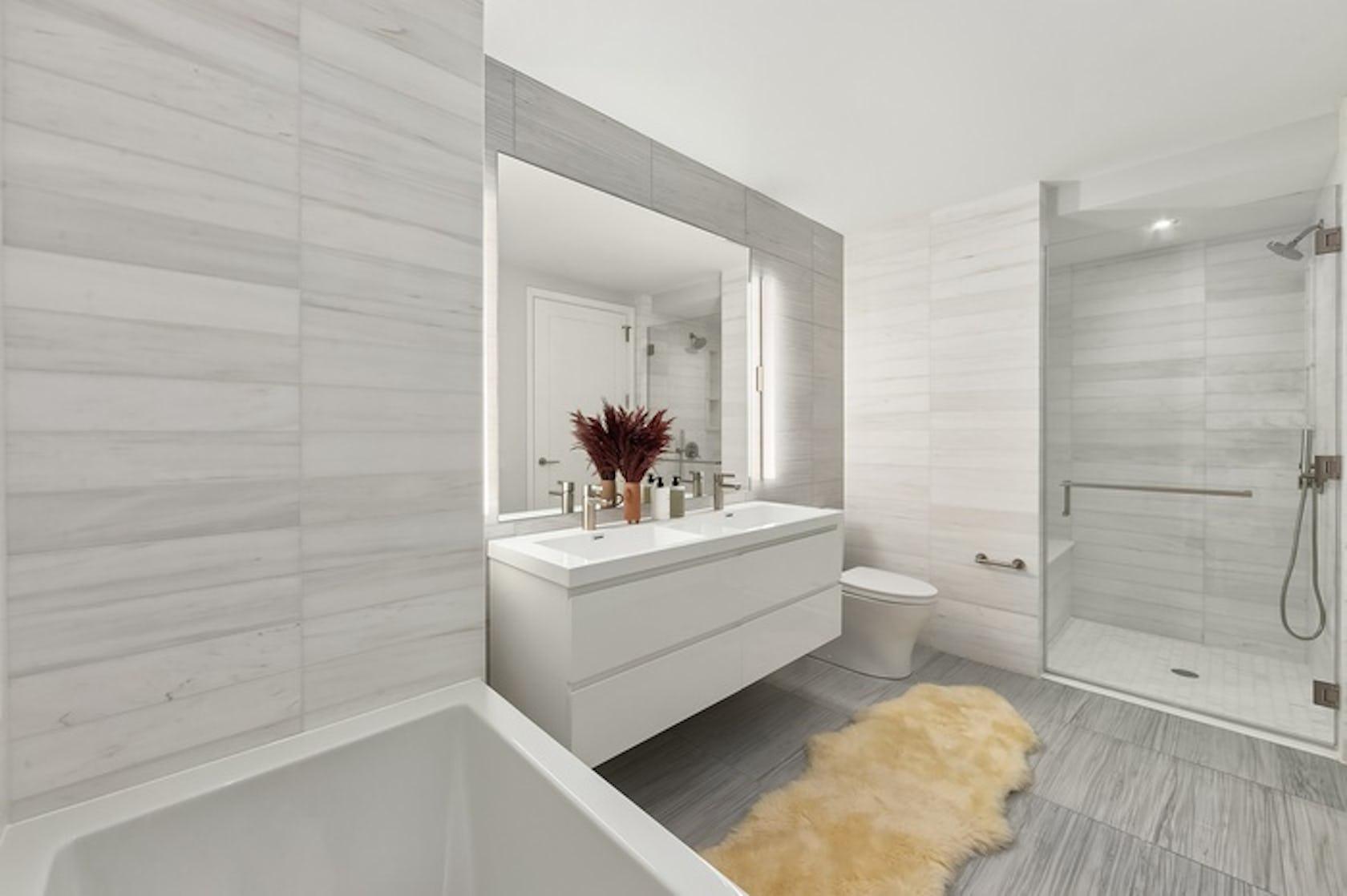 corner room indoors bathroom interior design
