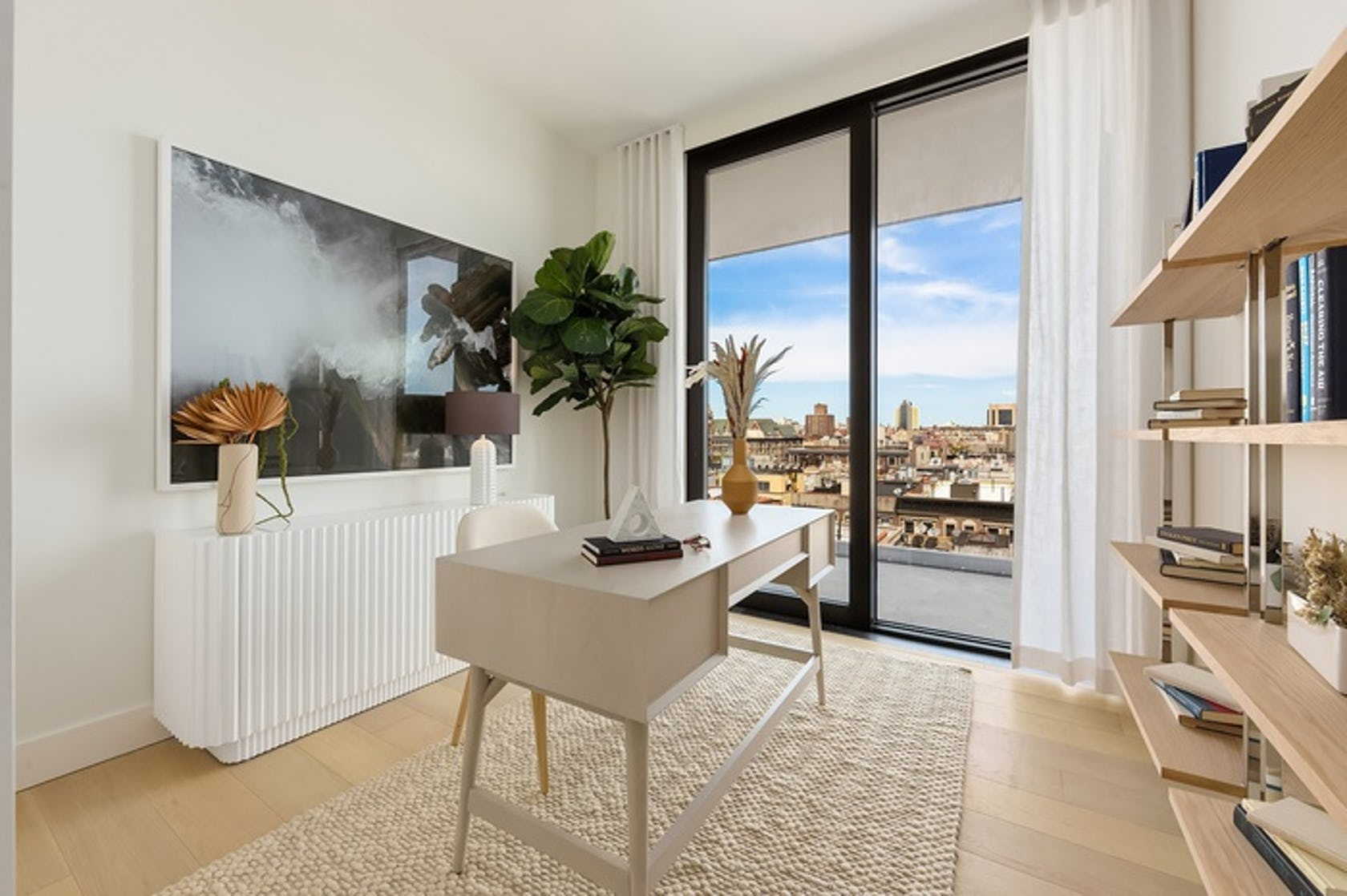 interior design indoors wood housing building furniture rug home decor