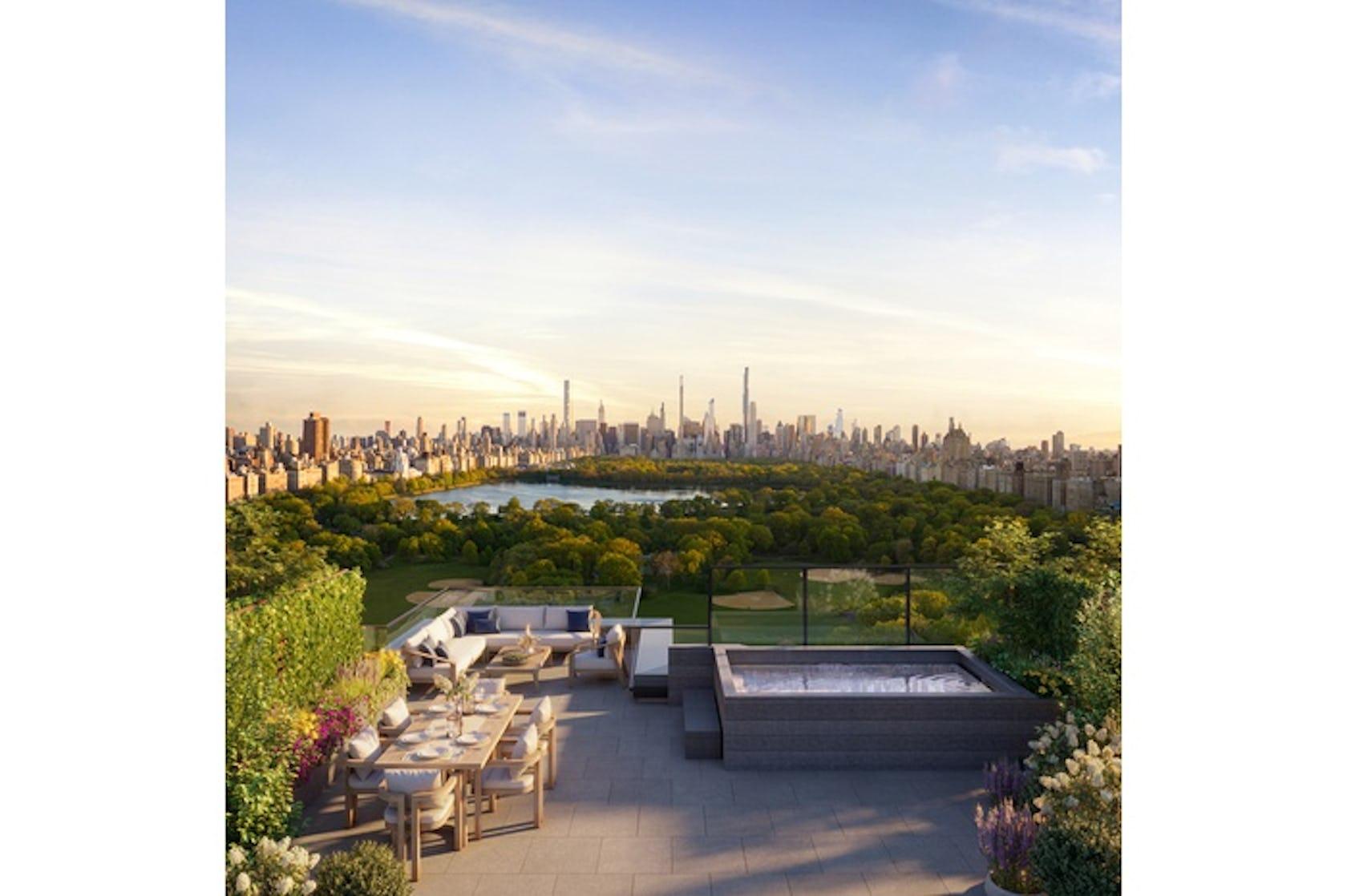 terrace bush plant vegetation outdoors furniture panoramic nature building patio