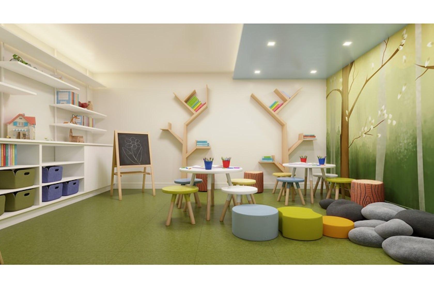 furniture chair corner interior design indoors room