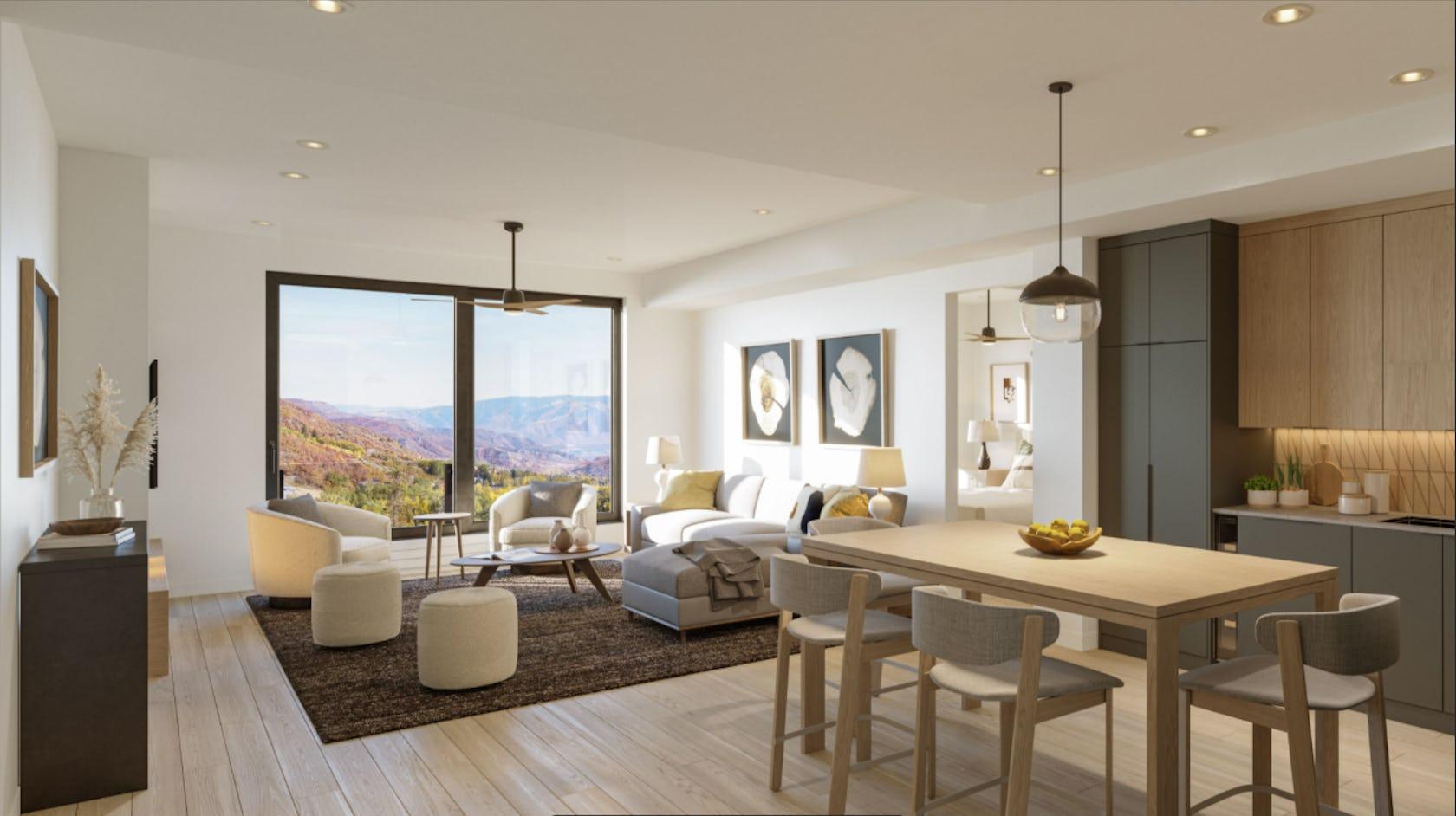 flooring interior design indoors chair furniture table housing wood living room room