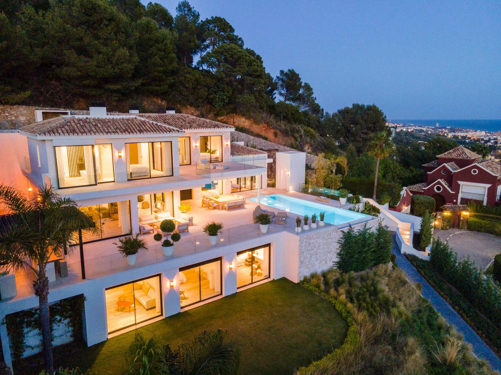 resort building hotel villa house housing