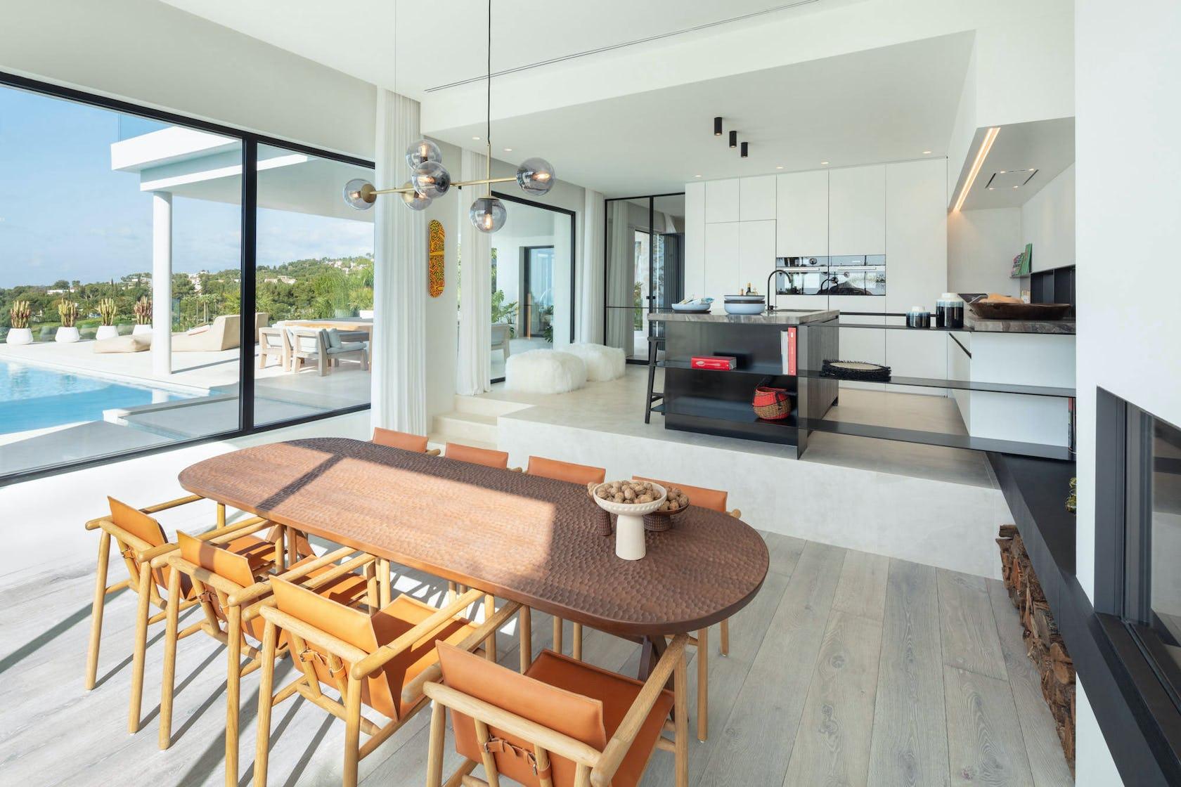 chair furniture interior design indoors flooring wood room housing building
