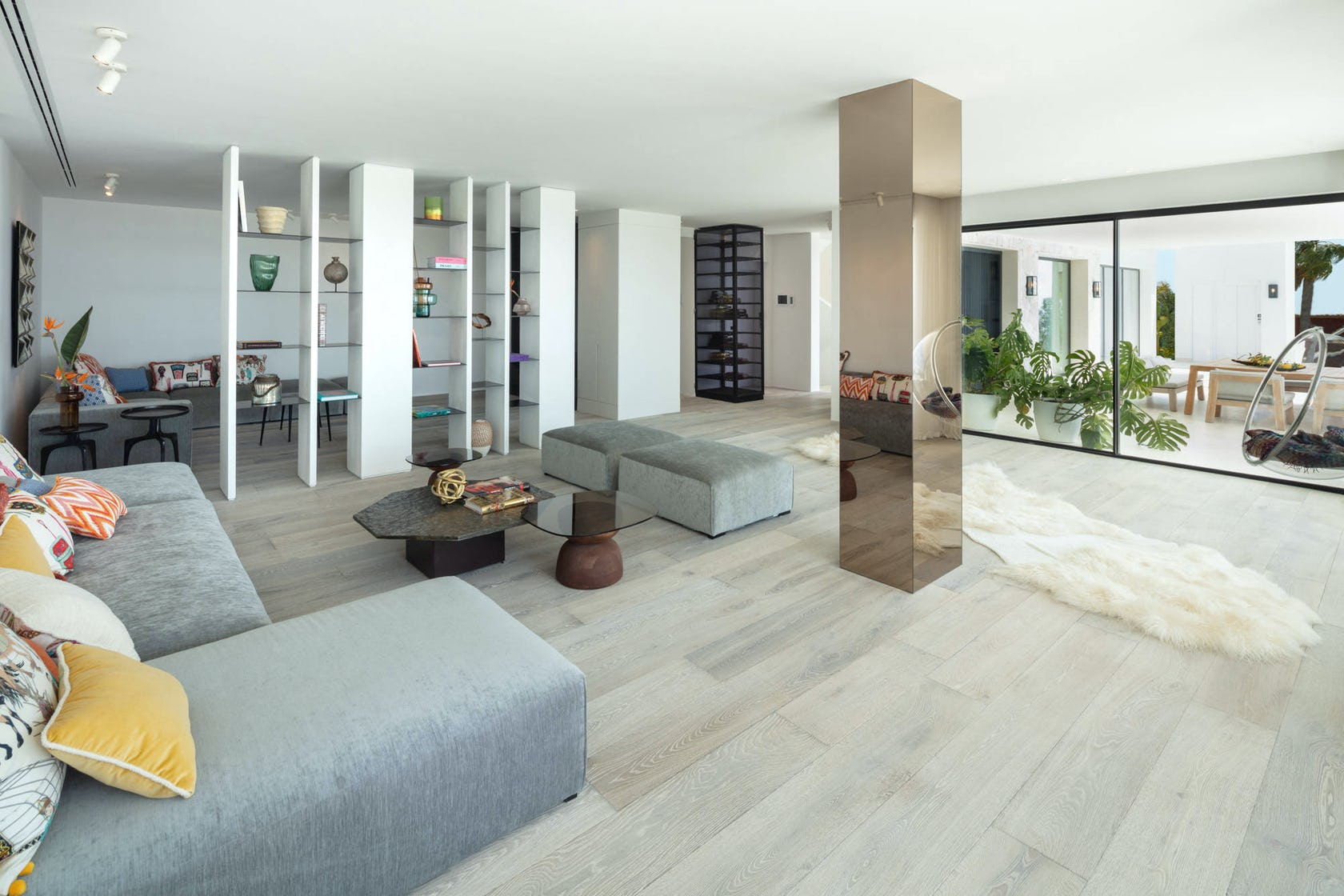 flooring floor furniture living room room indoors interior design table rug