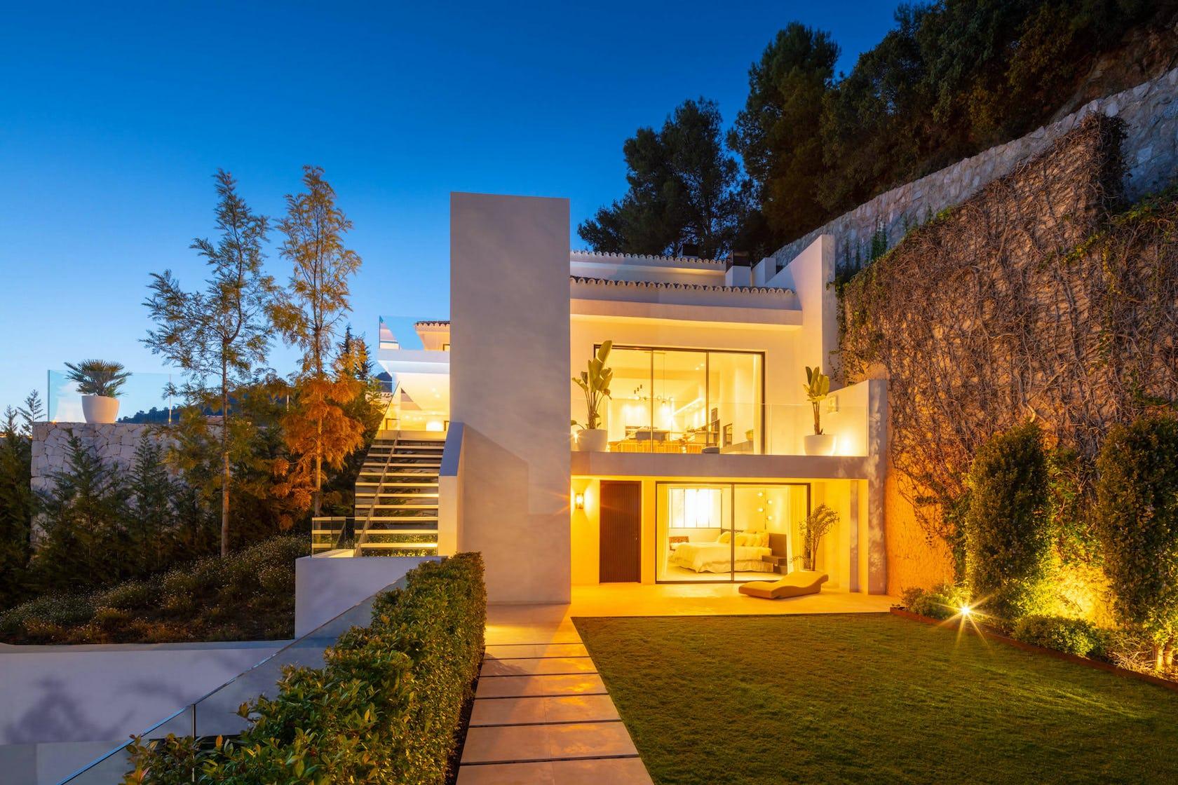 grass plant housing building mansion house villa architecture