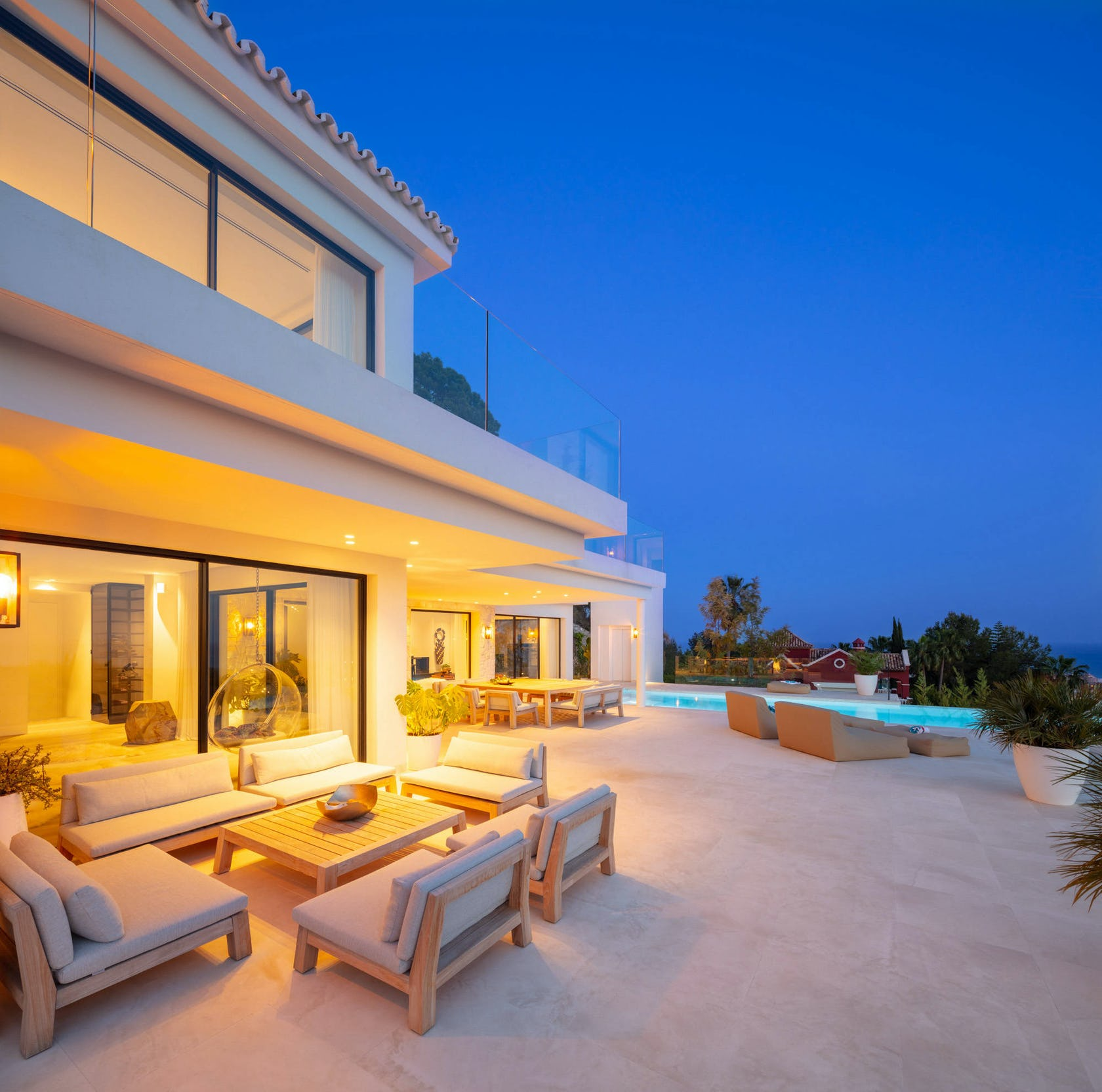 villa housing building house indoors