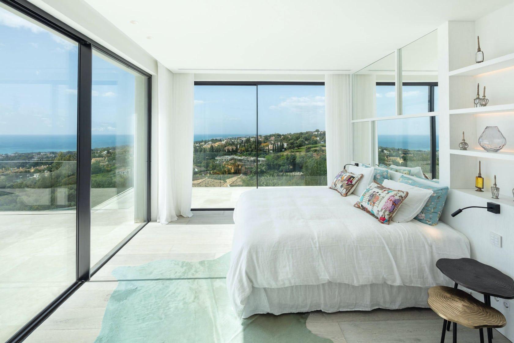 home decor bedroom indoors room furniture bed housing building
