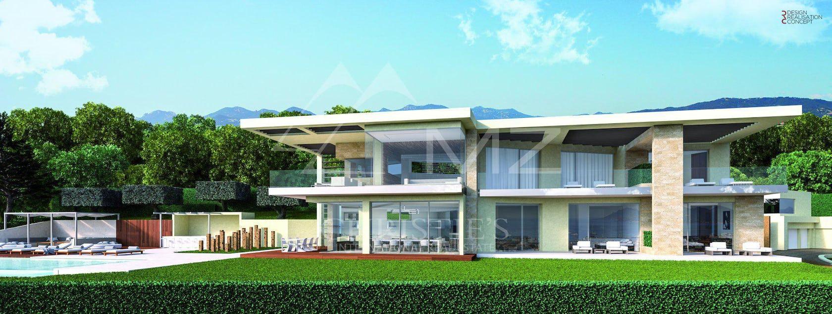 grass plant lawn building villa housing house architecture